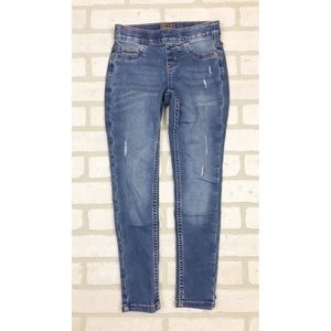 Justice Distressed Pull On Jean Leggings Jeggings